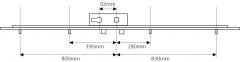 KFV AS4050 4 roller multipoint lock