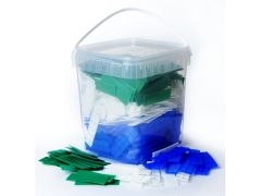 Tub of 500 mixed 28mm glazing packers
