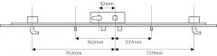 Fuhr 856 Type 3: 2 hook 2 roller
