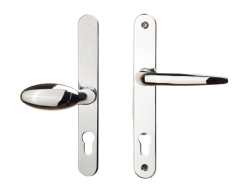 Offset 92/62mm Lever/Pad Handle: Long Backplate