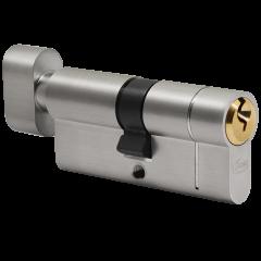 6 Pin Thumb Turn Euro Cylinder: Dual Finish