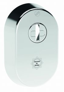 Security 2 star escutcheon 304 grade stainless