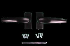 ALUMINIUM BALCONY DOOR HANDLE BLACK