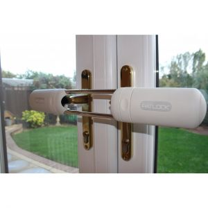 Patlock door security device