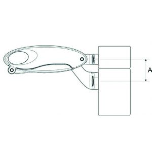 Folding opener window bar: steel/aluminium windows