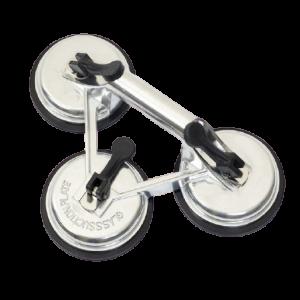 Triple glass lifter